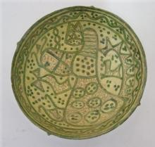 Ceramics - A Nishapur pottery bowl